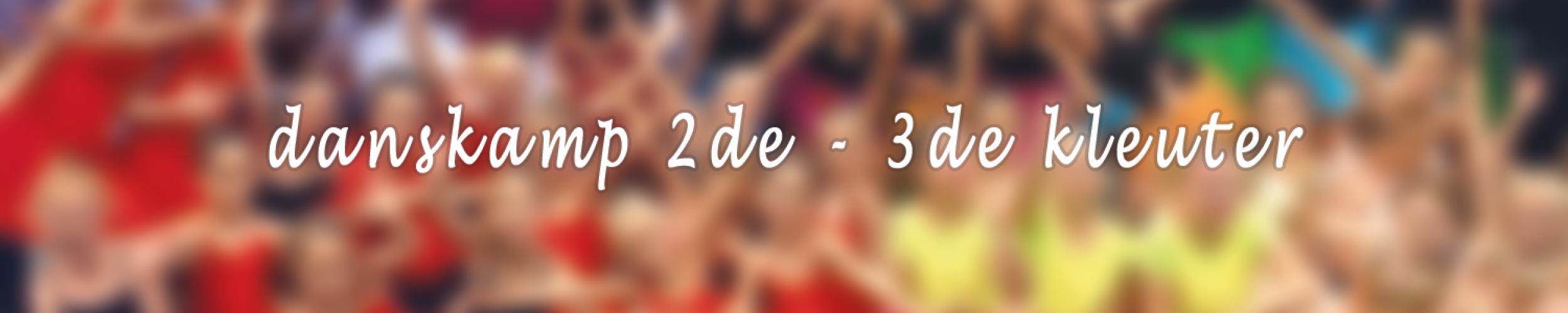 Danskamp 5 - 19 tot 23 augustus voor 2de en 3de kleuter_Izegemse Dansacademie