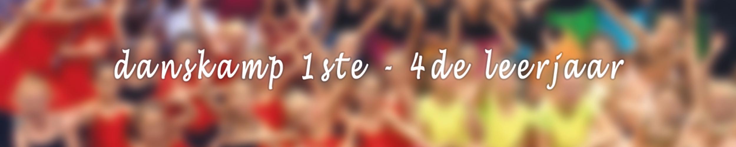 Danskamp 6 - 19 tot 23 augustus voor 1ste tot 4de leerjaar_Izegemse Dansacademie