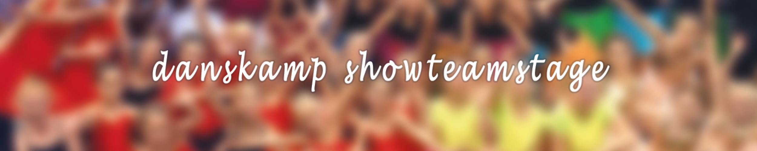 Danskamp 7 - Showteamstage van 23 tot 30 augustus 2019_Izegemse Dansacademie